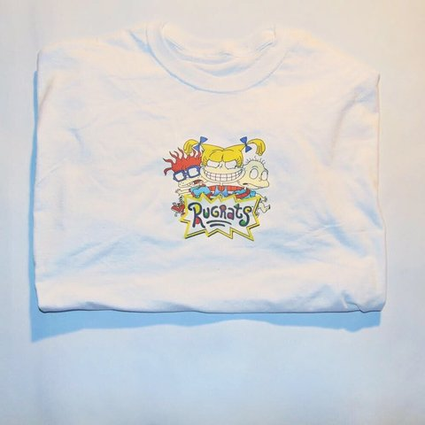 cfaaefd4 White Rugrats T Shirt This Item Is Unisex Anyone Can Rock Depop