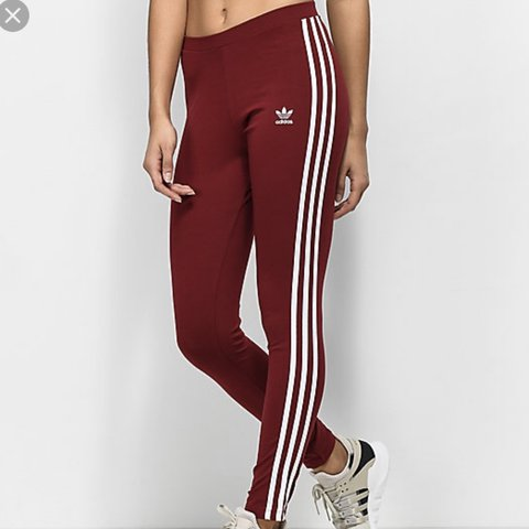 fd8f0a5192e @melissaclemente. last year. North Las Vegas, United States. Burgundy  Adidas Leggings Worn once. No flaws. So sad they don't fit me