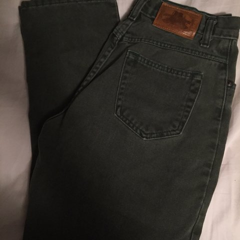 7d4f9c110a12 @jadaash. 6 days ago. Lyndon, United States. Authentic Dark Green Stone  Mesa Jeans High Waisted Great condition
