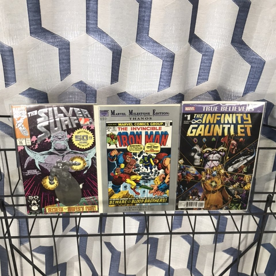 Up for sale is a Marvel Milestone Iron Man 55    - Depop