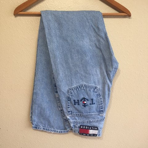 94cf06be @sitbackandwatch. 4 days ago. San Antonio, United States ‼ Price Drop ‼  Vintage Women's Tommy Hilfiger Jeans