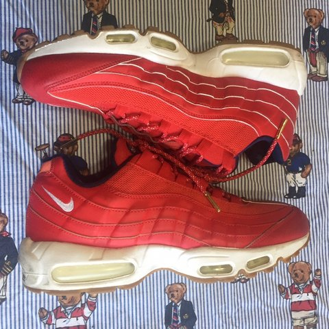 """ba7e5784b160 Nike Air Max 95 PRM """"Independence Day"""" Sneakers sneakers are - Depop"""