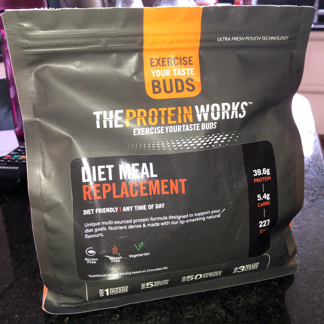 The Protein Works Diet Meal Replacement 500g Depop