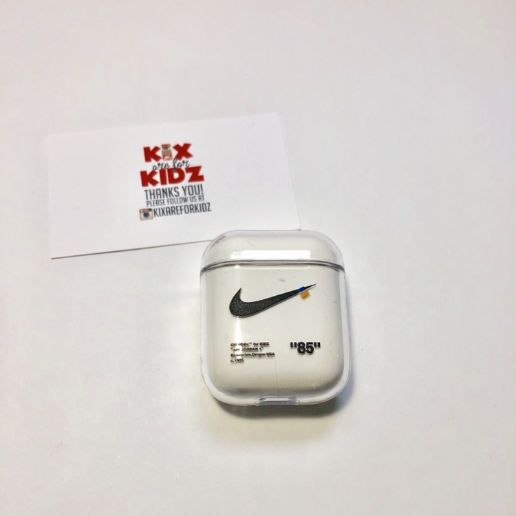 Nike X Off White Custom Made Airpod Case Brand Depop