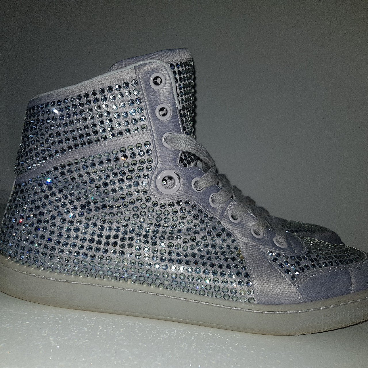 AUTHENTIC Gucci Coda Crystal High-top