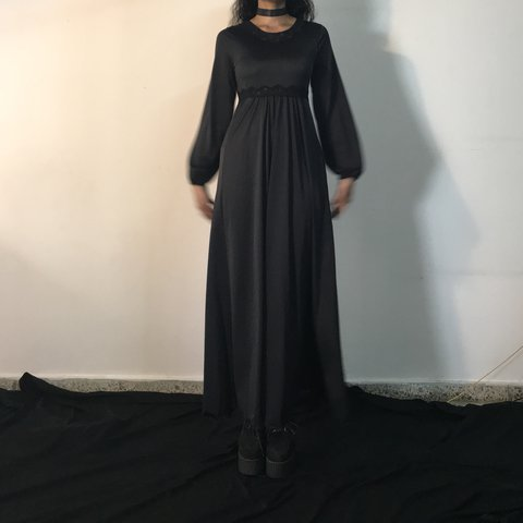 mmvtg. 11 months ago. United States. So amazing vintage gothic nightgown  in black. 4651d24d5