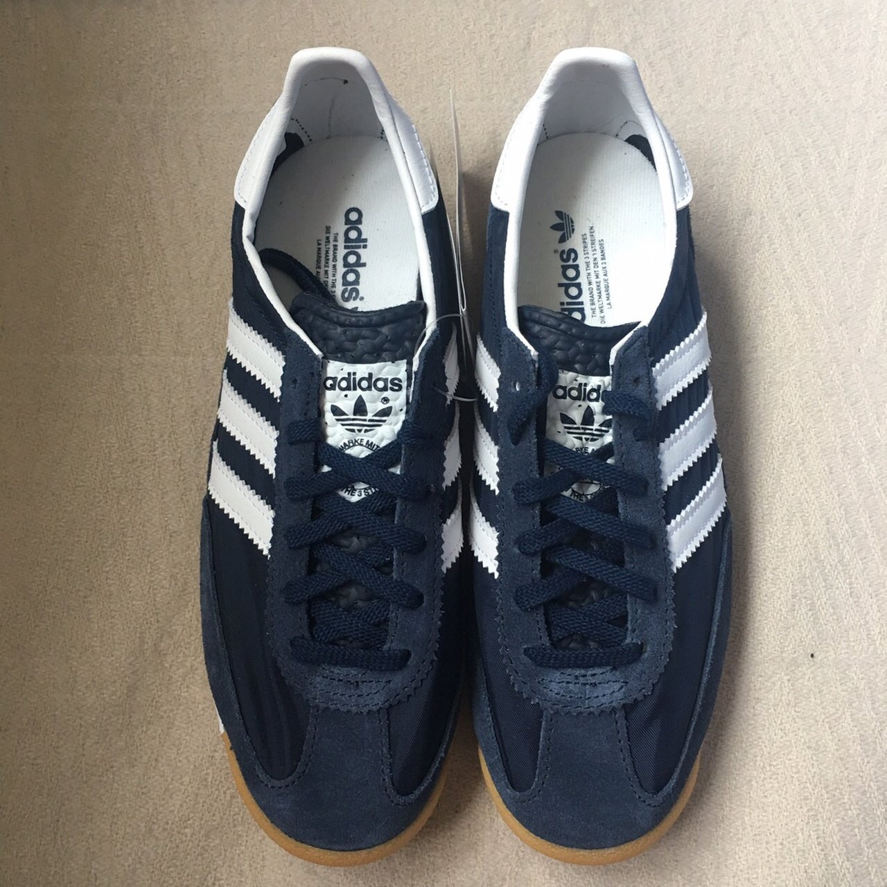 Adidas SL72 NIGHT NAVY, white and solid