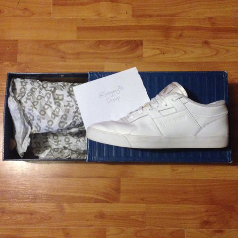2c64bb0157c Palace X reebok workout low clean fvs (2nd editions) now for - Depop