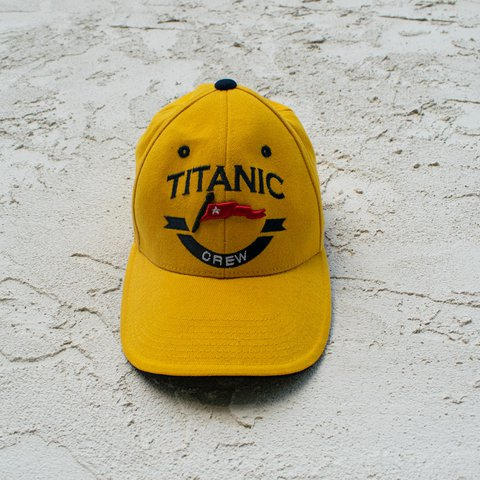 f120c36ad466 ~Yellow Titanic Crew Hat~ By West Coast Novelty The may a - Depop