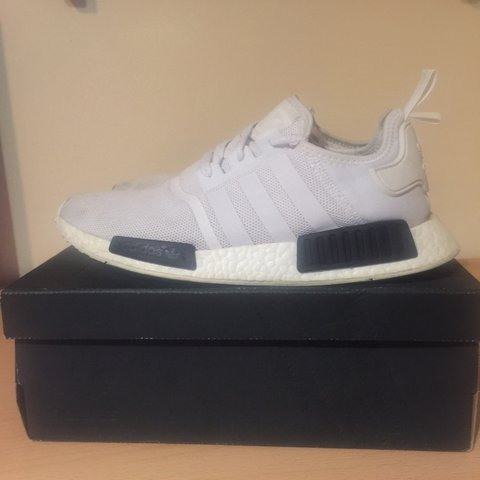 4eecb43f5ed82 Adidas NMD R1 Panda black and white colour way Condition - - Depop