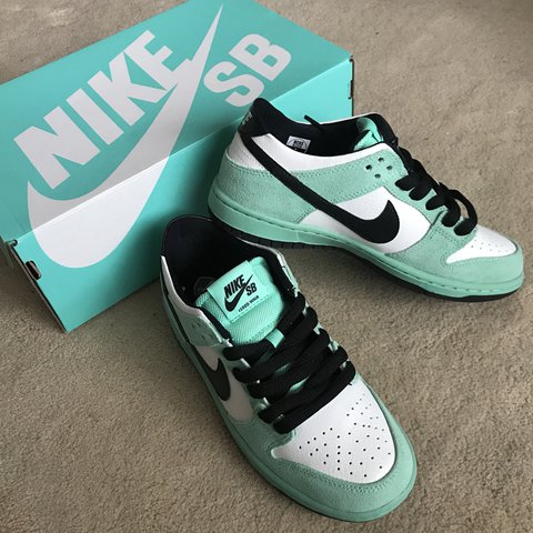 separation shoes d4ba2 a7638 NEW! NWT! NEVER WORN! NIKE DUNK LOW PRO IW ISHOD WAIR GREEN - Depop