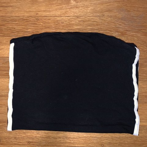 68c0ff1cea1 Brandy melville tube top with stripes on the side. A soft - Depop