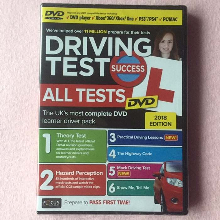 Driving Test Success All Tests DVD 2018 edition     - Depop