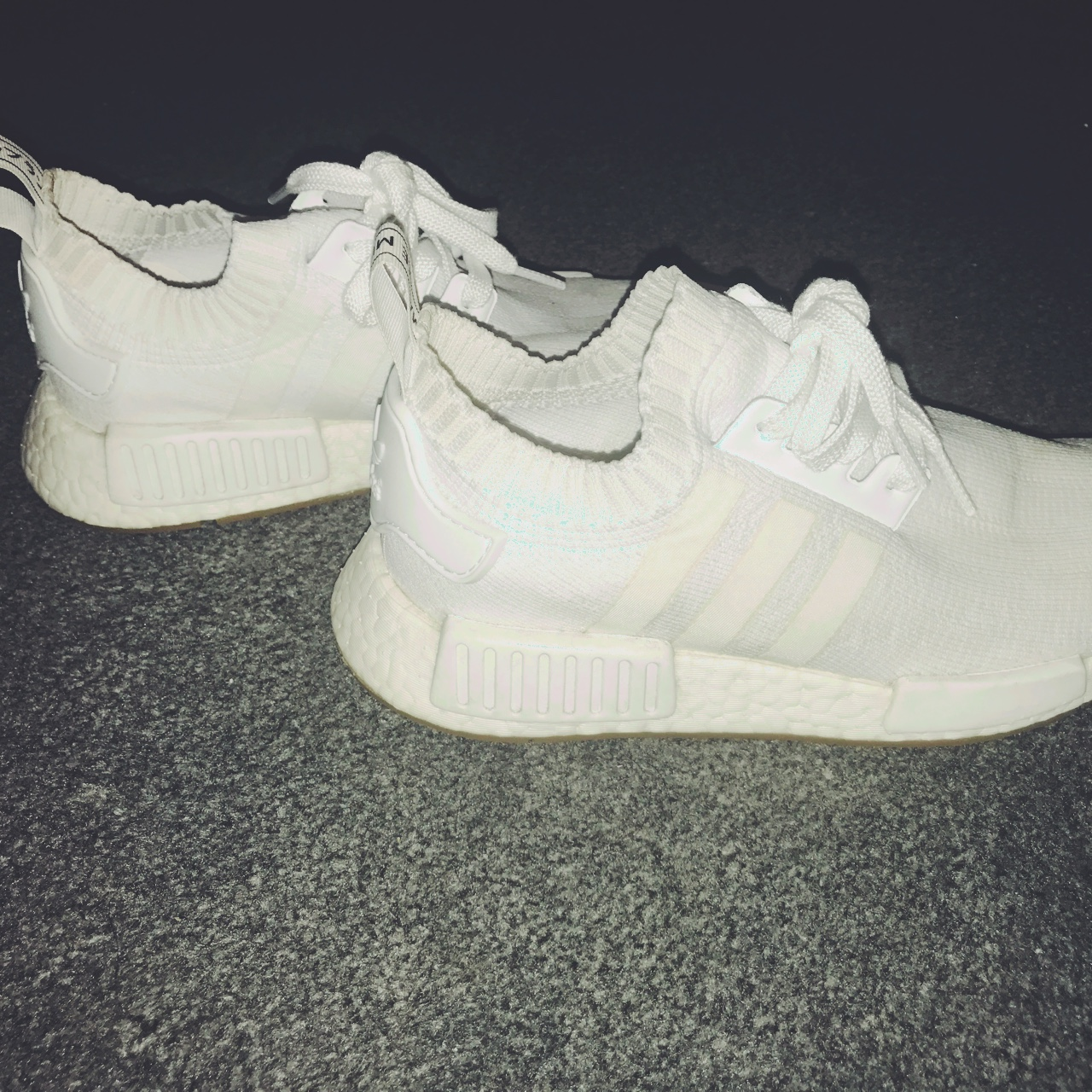 all white nmd r1 womens