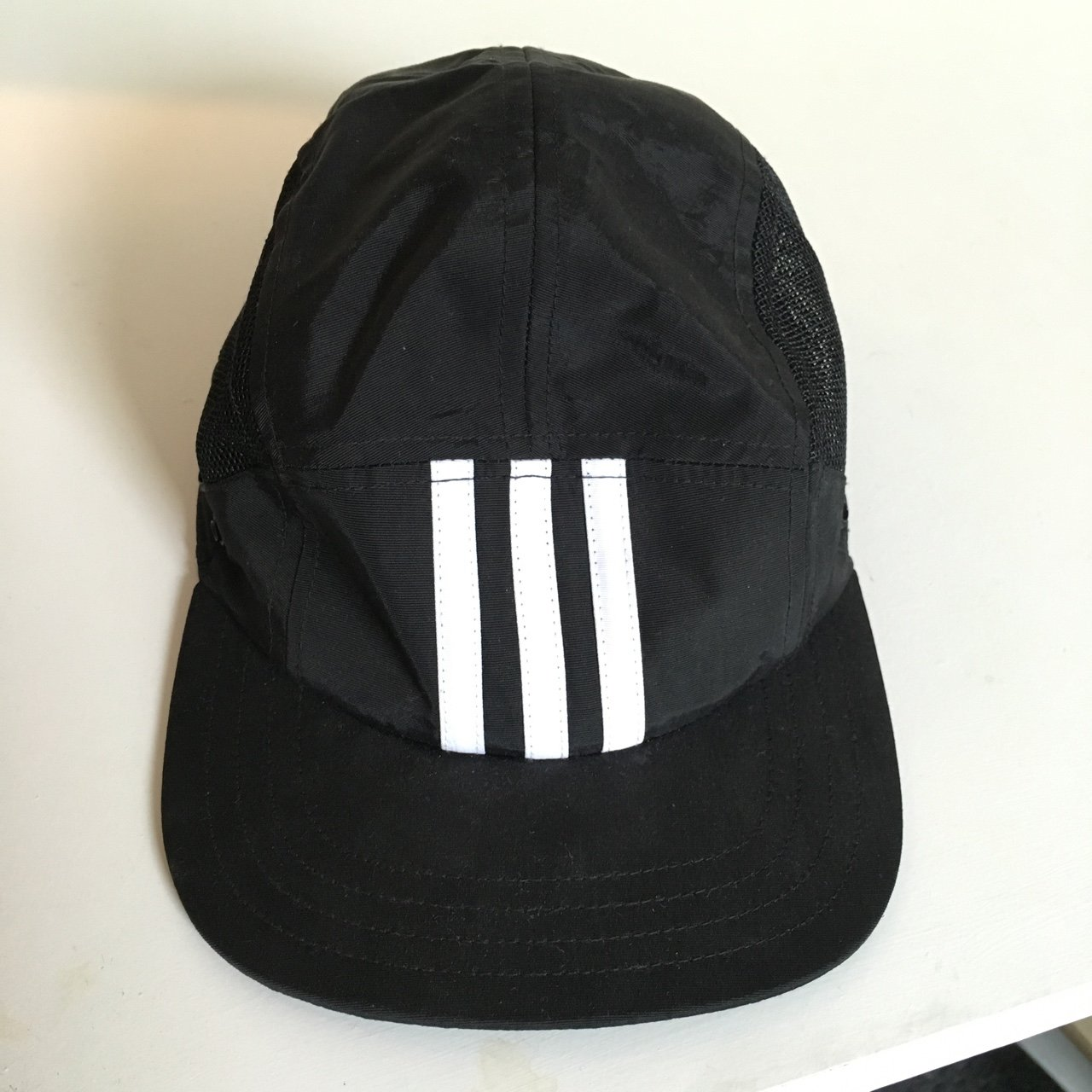 Adidas x Palace 5 Panel Cap Black. Small Medium. Including - Depop f1398420a73