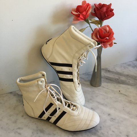 🥊 VINTAGE ADIDAS BOXING SHOES 🥊 SIZE 9