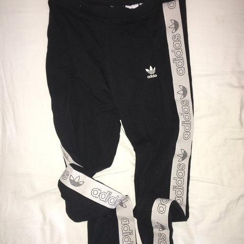 7e8c15466f3a80 Adidas low waist leggings, worn twice, cut one label out but - Depop