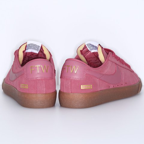 Madison0183 Last Year New York United States Pink Supreme X Nike Sb Blazer