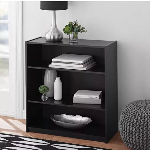 The Mainstays 3 Shelf Bookcase Is Sure To Fit Well With Your