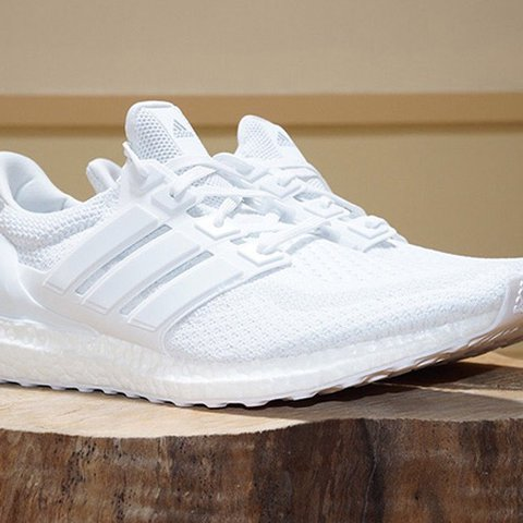 "Adidas Ultra Boost 2.0 ""Triple White"" Size 6 new. Never - Depop a85d693db"