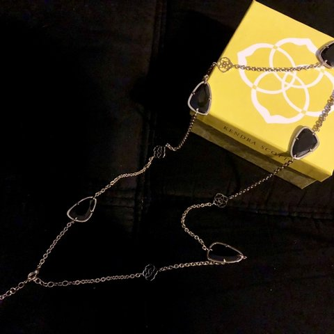 c9d3b91e3 @poppiesfashion. 6 months ago. Oklahoma City, United States. Kendra Scott ' Kinley' Long Station Necklace