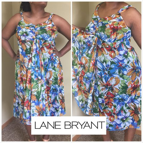edd89d0b483 Summer dress by Lane Bryant size 16 US - Depop