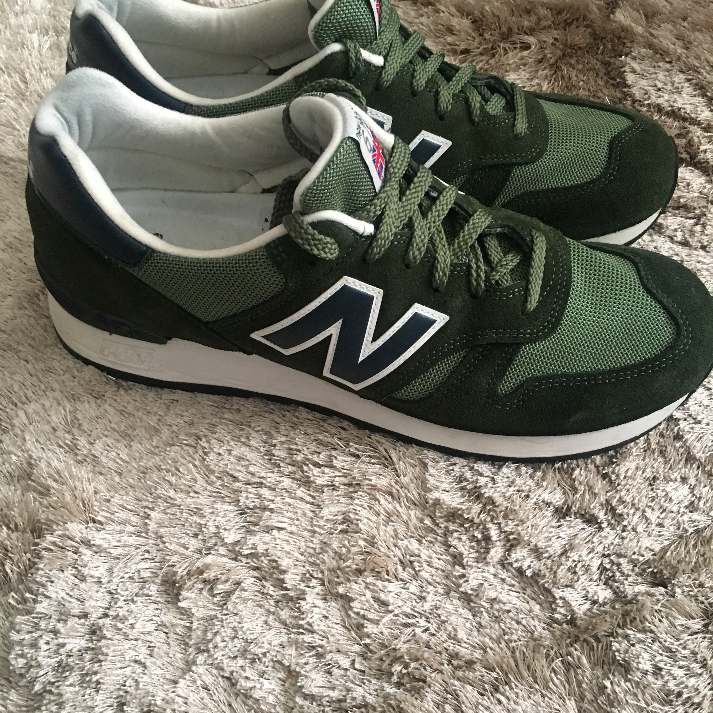 low cost f3d78 d4053 New balance 670 green size 9. Worn once. Postage... - Depop