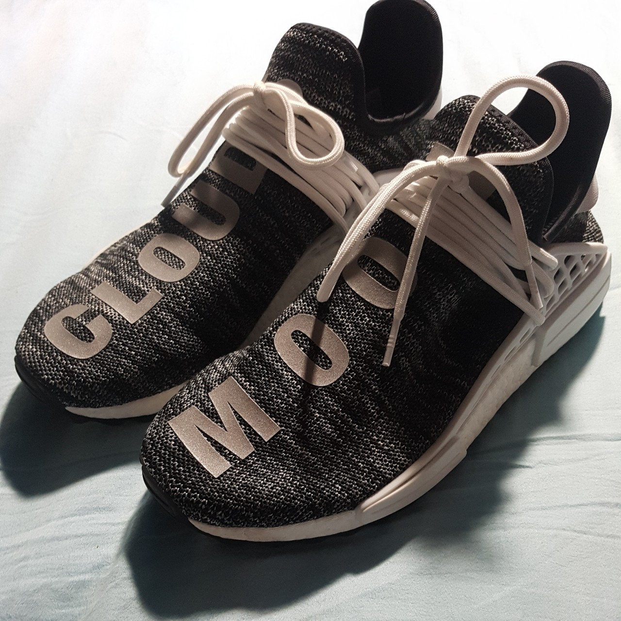 best website 705f6 1c2a0 Adidas x Pharrell Williams Human Race NMD Trail... - Depop