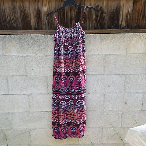 122dab01e939 @vintage_fanatic. last month. Pasadena, California, US. Xhilaration size  medium empire waist maxi dress ...