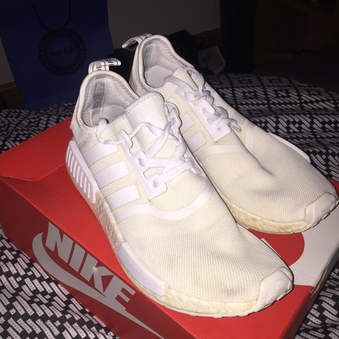 adf35d014 @tom_idell3. 6 months ago. Sheffield, United Kingdom. 💥Adidas NMD all  white💥 Size UK 9 ...