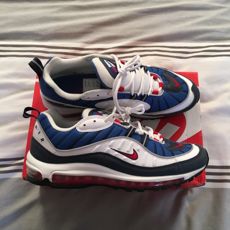 lowest price 63f49 9bd2f Air max 98 gundam brand new in OG box, last StockX... - Depop