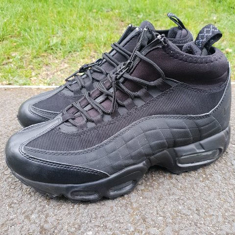 super popular 5cead d5145  ohlucci. 21 days ago. London, GB. 💣 NIKE Air Max 95 Sneakerboot size 7uk  sneaker trainers black. Style code  806809 002