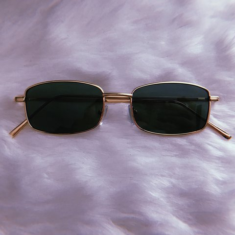 1d30ae3412cfa GRNBLK   GOLD STUNNA FRAMES ✨ Perfect for men and women. a - Depop