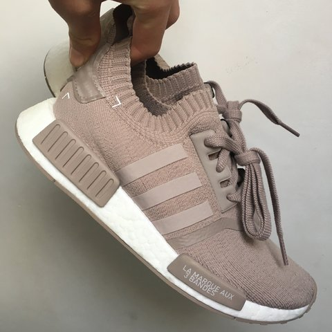 bbabc68571703 Adidas NMD  vapour grey   French beige  whatever you want to - Depop