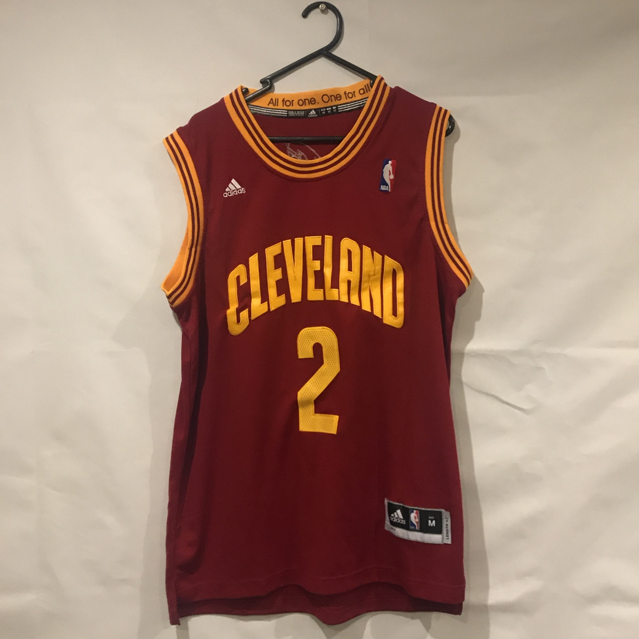 buy popular b5530 57835 Fake Kyrie Irving Cavaliers Jersey - One of the... - Depop