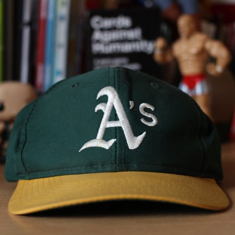 6e0843a990f8d Oakland Athletics baseball MLB vintage hat cap - all our are - Depop