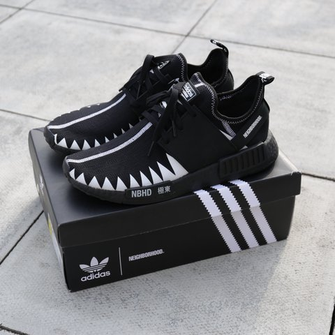 be069f5e22900 Adidas x NEIGHBOURHOOD NMD R1 NBHD — SIZE  UK9 — COLOUR  - Depop