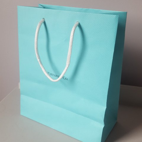 e1fb890354 @domgioo. last year. London, Greater London, United Kingdom. Real Tiffany  and Co paper bag. ...