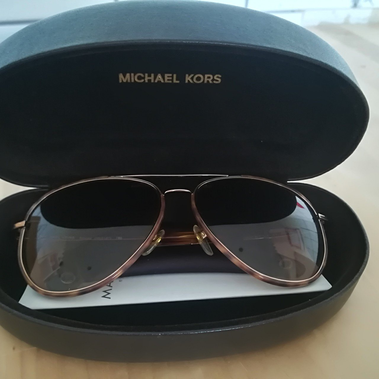 31072a75f4d0 Michael Kors aviator style sunglasses. In good condition. as - Depop