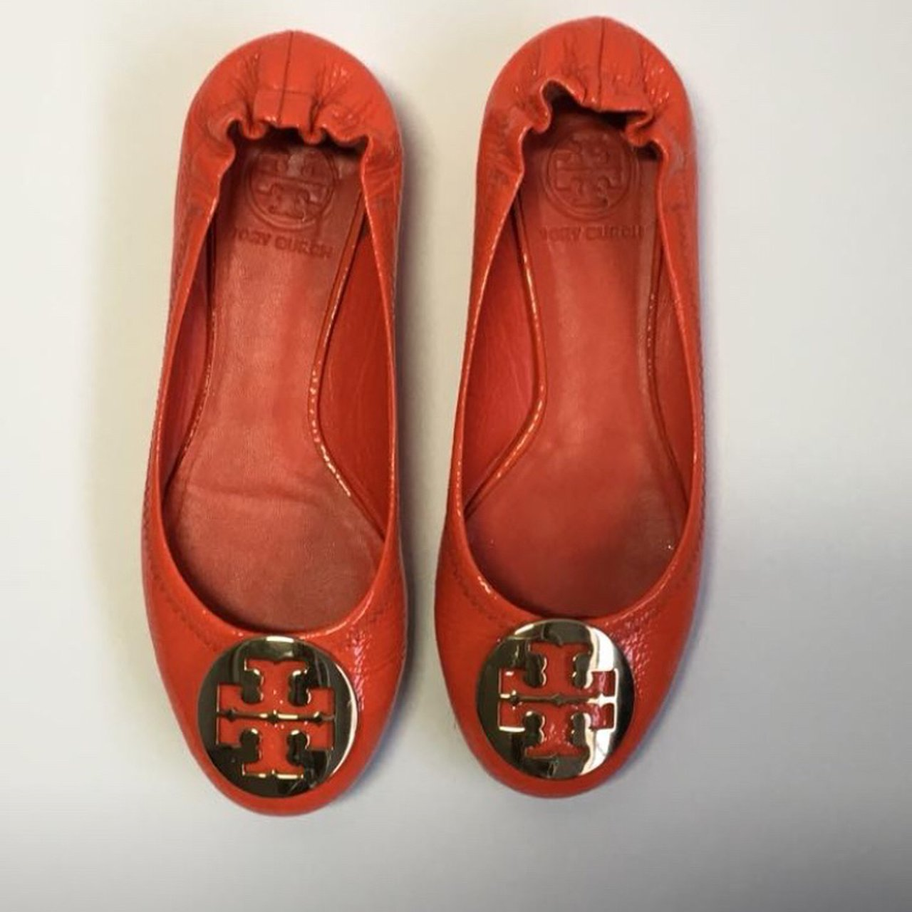 4b9aa2ab6439 Authentic Tory Burch Reva Ballet Flats. - Only worn once and - Depop