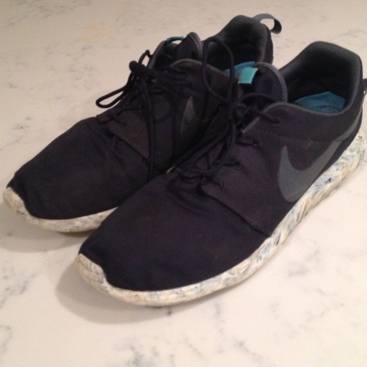 check out d0038 bfffc   armxnd. 2 years ago. Surrey, UK. Nike Roshe Run navy blue, marble ...