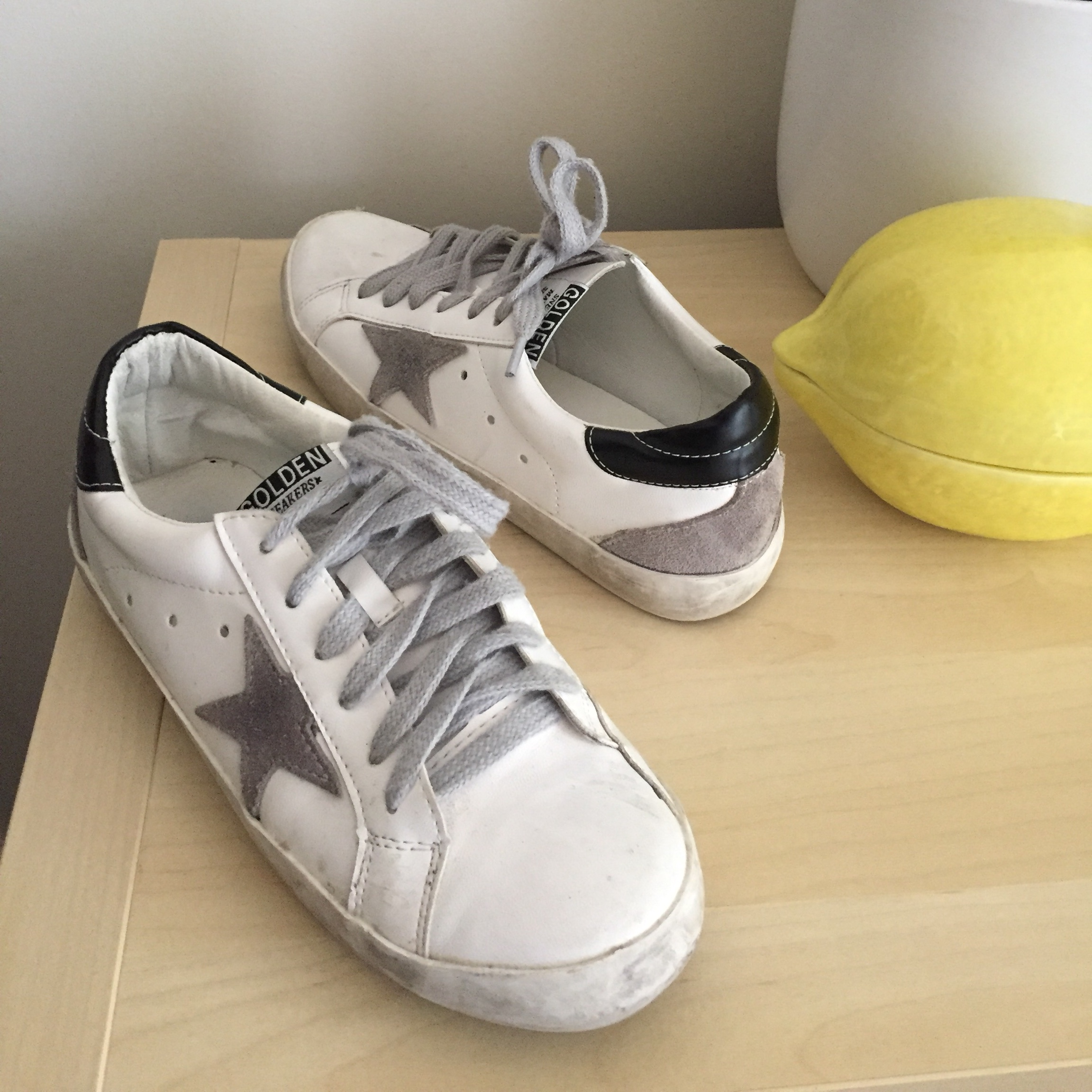 Well made fake golden goose sneakers
