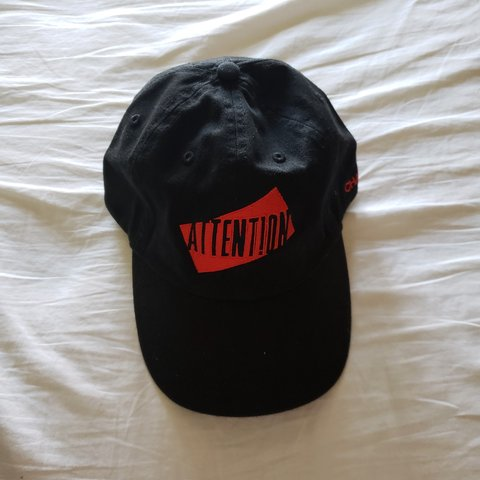 7a0a459890d43 Charlie Puth Attention hat This is from his merch from Shawn - Depop