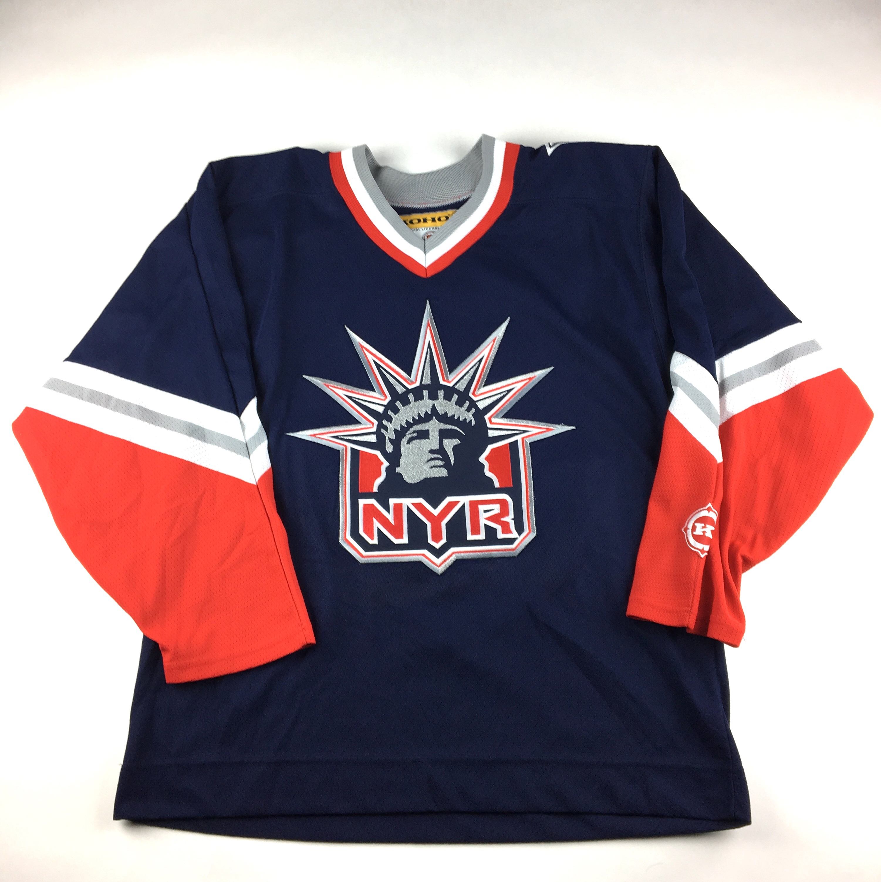 more photos 440c3 fcb94 Vintage New York Rangers NHL Koho Statue of Liberty ...