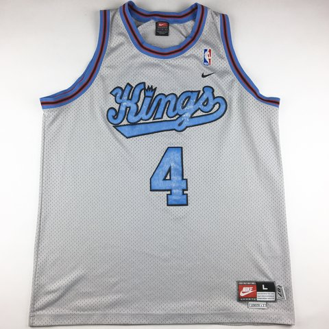 4c2b2d480ec  209greatbeginnings. 5 months ago. United States. Vintage Nike Team Chris  Webber  4 Sacramento Kings Men s Throwback Swingman Jersey ...