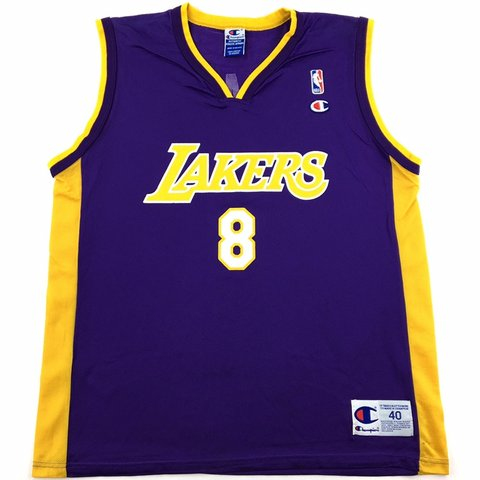 0e3522bb5ada  209greatbeginnings. 12 days ago. United States. Vintage Champion NBA Los  Angeles Lakers Kobe Bryant ...