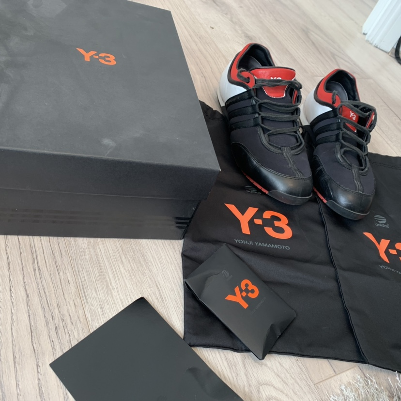y3 boxing trainers black