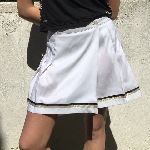 ca123a6e5c @monarchcollective. last year. Los Angeles, United States. wrap-around  pleated skirt ...