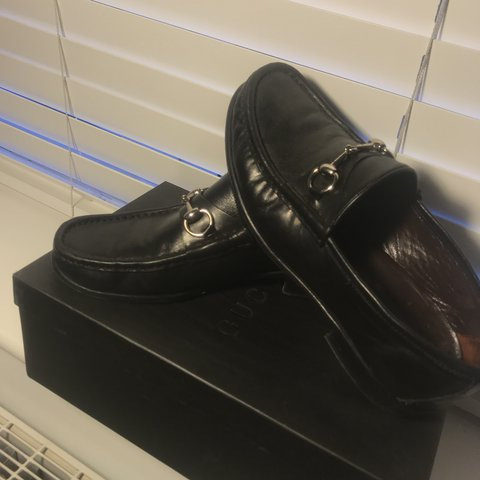 7828a2ef68b Vintage Gucci loafers. 100% authentic Real leather and ask - Depop