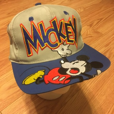 693e5544923e3 Vintage 90s 80s Disney Mickey Mouse hat. Great condition   - Depop